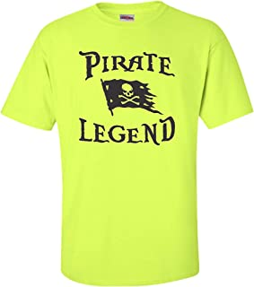 Go All Out Adult Pirate Legend Jolly Roger Flag T-Shirt