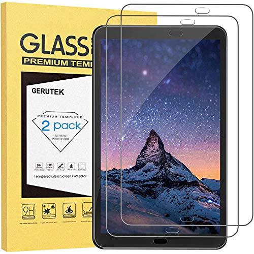 """Gerutek [2-Pack] Pellicola protettiva per Samsung Galaxy Tab a 10.1"""" 2016 SM-T580/T585, [vetro temperato] [ultra trasparente] [anti-graffio] [Bubble-Free] [Durezza 9H] per Samsung Tab a 10.1 2016"""