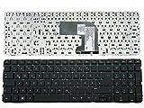 HP Tastatur Compaq Pavilion DV6T-7000 Deutsch NEU Schwarz (Ohne Rahmen, ohne Folie)
