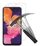 ANEWSIR [Paquete de 2] Samsung Galaxy A10/A10S Protector de Pantalla, Vidrio Templado Samsung Galaxy A10/A10S [Sin Burbujas] [Dureza 9H] [Alta resolución]