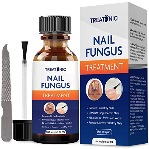 Nail Fungal Treatment for toenail-Fungal Nail Treatment-Toenail Fungal Treatment, Fix & Renew Damaged, Broken, Cracked & Discolored Nails, Stop Fungal Growth