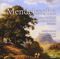 Mendelssohn: String Quartet Op.12, String Quintet No.1, Minuetto by Prazak Quartet (2009-06-09)