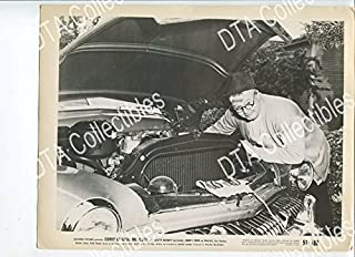 MOVIE PHOTO: CORKY OF GASOLINE ALLEY 8x10 PROMO STILL-VG-1951-OLD CAR-COMIC STRIP-MECHANIC VG