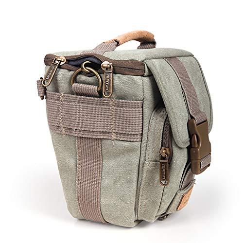 LIZIBAO Kameratasche - Stoßfestes, wasserdichtes, professionelles Reise-Schulter-Diagonal-Paket aus Segeltuch for den Außenbereich, geeignet for kleine Modelle (Color : A)