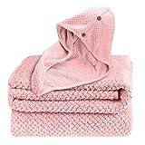 G-TASTE Juego de Toallas de baño, Toallas de baño y sábanas de baño Grandes para el hogar Toallas Altamente absorbentes y Suaves para Uso Diario