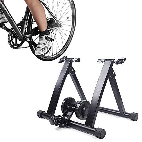 Rueda de entrenamiento para neumáticos de 24 a 27 pulgadas, plegable, para entrenamiento en interiores