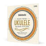 D'Addario EJ65B Pro-Arté Custom Extruded Nylon Ukulele Strings, Baritone