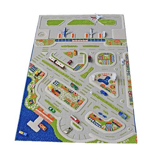 IVI Mini City Thick 3D Kids Car Rug, 39...