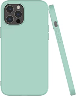 Shamo's compatible with iPhone 12 and iPhone 12 Pro Case with Soft Microfiber Cloth Lining Cushion, Thin Slim Fit Flexible...