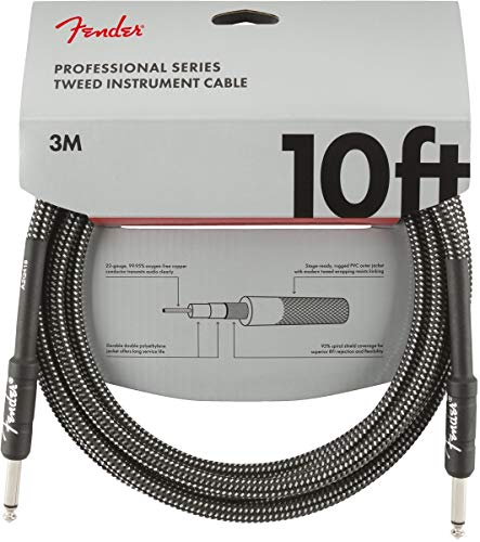 Fender Kabel Professional Series, 3m gray tweed