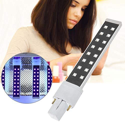 405nm Nail Art Gel Curing Dryer, UV-lamp Light Tube Manicure Tool Vervanging UV-lamp Nail Art Tools voor vingernagel en teennagel Curing Manicure Verfraaiing.