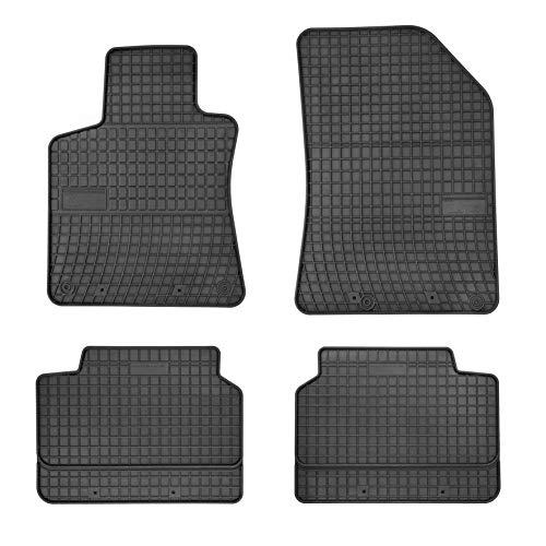 DBS Tapis de Voiture - sur Mesure pour 308 (2013-2020) - 4 pièces - Tapis de Sol antidérapant pour Automobile - Souple - 100% Caoutchouc