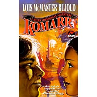Komarr     A Miles Vorkosigan Novel              By:                                                                                                                                 Lois McMaster Bujold                               Narrated by:                                                                                                                                 Grover Gardner                      Length: 12 hrs and 44 mins     1,917 ratings     Overall 4.7