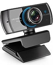 Logitubo HDウェブカメラ1080Pライブストリーミングカメラ200万画素デュアルマイクロフォンウェブカム付きXBox One/PC/Macbook/TV Boxサポ OBS/Facebook