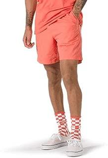 """Vans Men's Range Shorts 18"""" (Orange, Large)"""