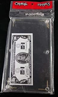 Capital Plastics Large Currency Bill Holder CH-2