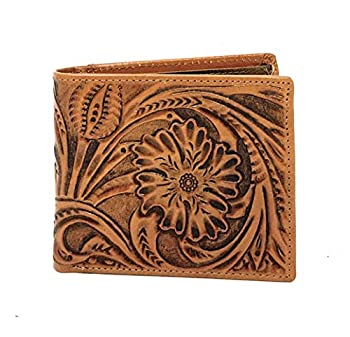 Best mens tooled leather wallet Reviews
