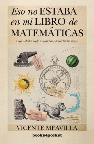 Eso No Estaba En Mi Libro (B4P) De Matemáticas (Ensayo Y Divulgacion B4P)
