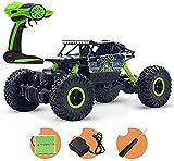 Tout Terrain chargeable Rocher Crawlers hors route RC Drift Grimpez Buggy Camion voiture for enfants et adultes voiture télécommandée, 01:12 Double Motors 4WD RTR haute vitesse amphibie étanche St hef