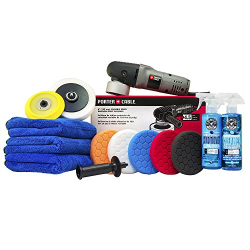 Chemical Guys BUF Porter Cable 7424XP Detailing Complete Detailing Kit with Pads, Backing Plate and...