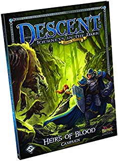Fantasy Flight Games Descent Second Edition: Heirs of Blood Campaign Book