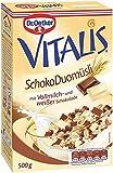 Dr. Oetker Vitalis Schoko Duo, Frühstücksmüsli mit Vollmilch- und weißer Schokolade, 7er Packung...