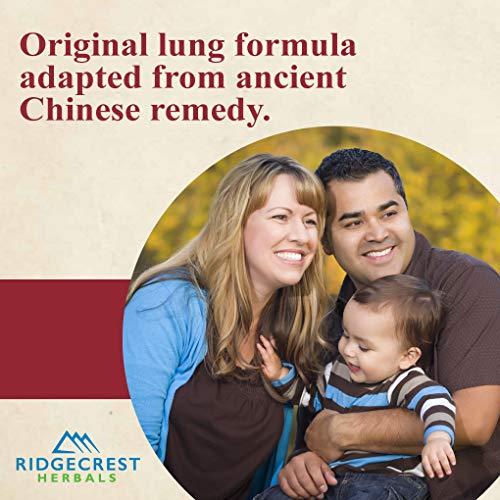 Ridgecrest Herbals ClearLungs, Herbal Breathing Support, Original Formula, 120 Vegetarian Capsules