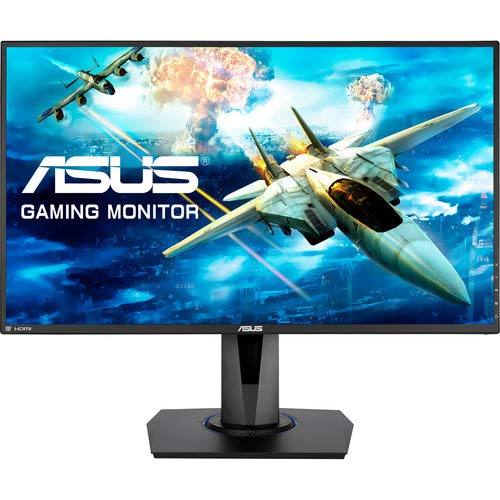 Asus VG275Q 27 inch Widescreen 100,000,000:1 1ms VGA/2HDMI/DisplayPort LCD Monitor w/Speakers (Black)