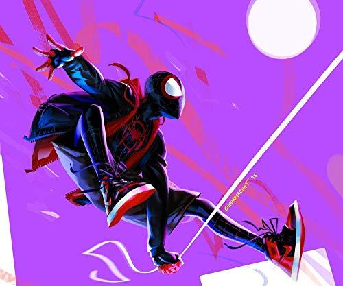 Puzzle de 1000 Piezas para Adultos,Spiderman voladorde Impresión de Alta Definición,Educativo Intelectual de descompresión Divertido Juego Familiar para niños Adultos