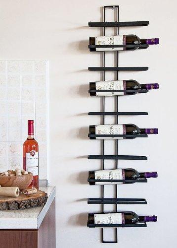 """Weinregal """"Dies"""" aus Metall für 10 Flaschen - 2"""