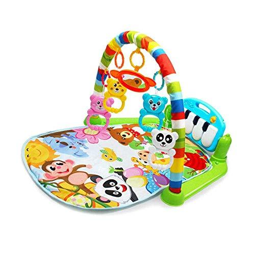 Gimnasio para bebé con piano
