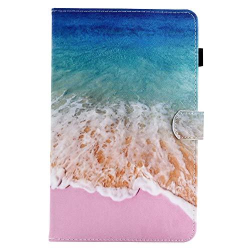 Coopay 17Suave y Liso Tapa Tarjetero a Rabat Funda para Piel Premium PU Smart Carcasa para Tablet Samsung Galaxy Tab A610.1Pulgadas (2016) sm-t580/T58510.1Pulgadas