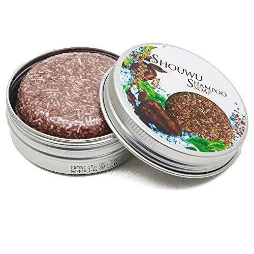 Haar Shampoo Seife Solid Shampoo Riegel, natürliche organische Polygonum Multiflorum Haarpflege Shampoo Reparatur Conditioner für alle Haartypen