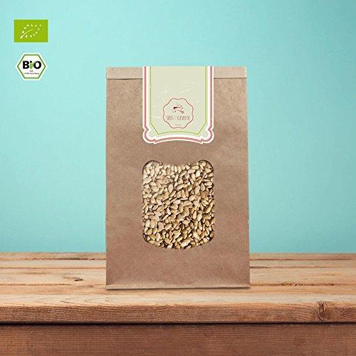 süssundclever.de® Bio Pinienkerne | Rohkost | 250 g | Premium Qualität | hochwertiges Naturprodukt | 100% naturbelassen und unbehandelt | plastikfrei und ökologisch-nachhaltig abgepackt