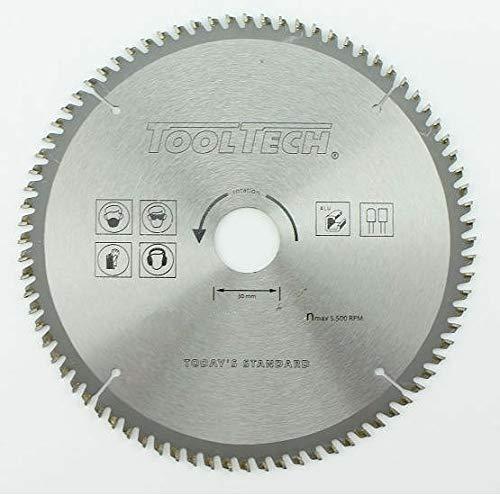 Kreissägeblatt HM NE Sägeblatt 250 x 30 | 100 Widiazähne | für Aluminium/Kunststoff | inkl. Reduzierungen 16/20 und 25,4mm