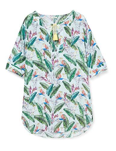 ESPRIT wear Damen Lilian Beach Acc Tunic Überwurf für Schwimmbekleidung, 390, S