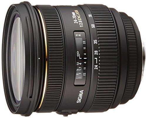 Sigma 24-70 mm F2,8 EX DG HSM-Objektiv (82 mm Filtergewinde) für Sony Objektivbajonett