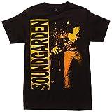 Soundgarden Louder Than Love T-Shirt - Black (Large)