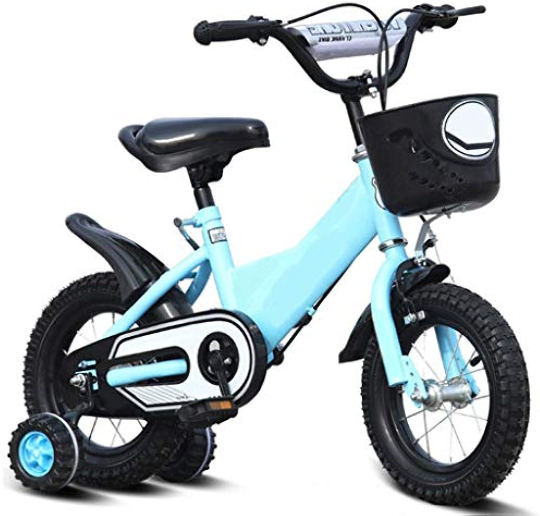 Unbekannt Kinder Fahrrad Baby Mdchen 12-14-16-18 Zoll Junge Mountainbike 4 5 6 7 8 9 10 Jahre Alt Fahrrad Mit Hilfsrad (Gre  12 Zoll)