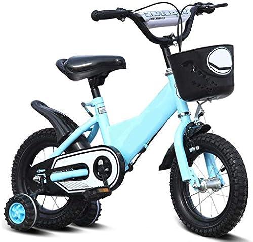 Unbekannt Kinder fürrad Baby mädchen 12-14-16-18 Zoll Junge Mountainbike 4 5 6 7 8 9 10 Jahre Alt fürrad Mit Hilfsrad (Größe  12 Zoll)