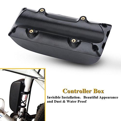 Alomejor E-Bike Controller Box Kunststoff-Box für E-Bike Elektro-Fahrräder Mountainbikes Roller Radfahren Umbausatz - 5
