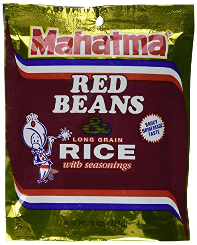 Mahatma Rice Mix Red Bean \u0026amp; Rice, Pack of 6