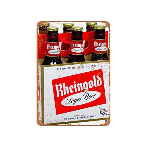 43LenaJon Rheingold Bier Vintage Look Metallschild