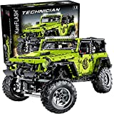 KareFLASH Cross Country Off-Road   Technique Building Blocks   Adult Collectible   Truck Model   Spring Suspension   Big Model 1:8 Scale