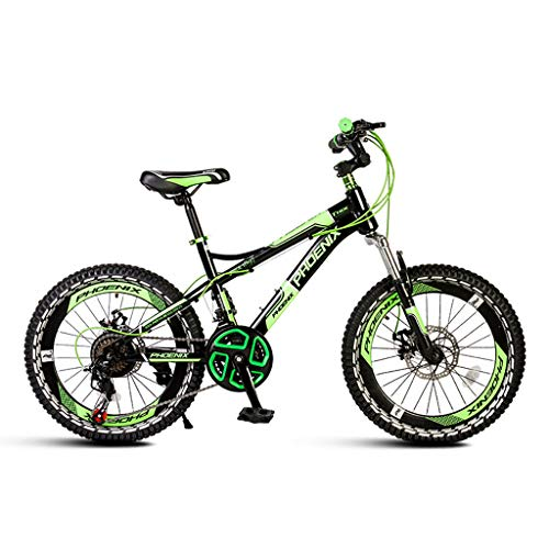 Kinderfahrrad 18 Zoll 20 Zoll Single Speed Mountainbike Grundschule Mountainbike Rahmen Aus Kohlenstoffstahl Geeignet Für Höhe 130-165cm