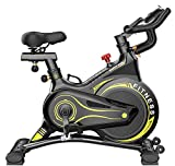 Lhlbgdz Spinning Exercise Bike Fitness Sports Home Family Bicicleta estatica Gym Cycling Equipment Smart Mute Bicycle