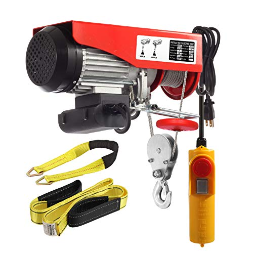 Our #4 Pick is the Partsam 1320 lbs Lift Electric Hoist Crane