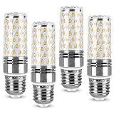 Lámpara LED E27 Bombilla de luz de maíz de 12W Equivalente incandescente de 120W, Alto lúmenes 1320Lm con ángulo de haz de 360 grados, Bombilla de ahorro de energía no regulable para iluminación del