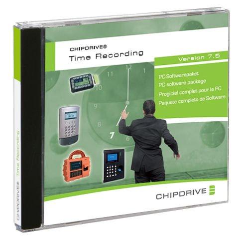 CHIPDRIVE Timerecording (Zeiterfassung) V 7.5 Software