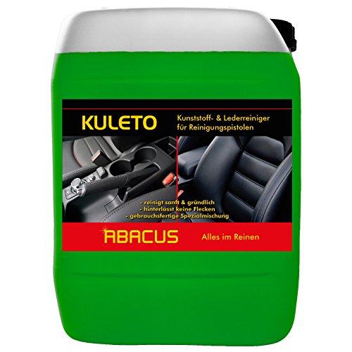KULETO Tornador-Reiniger 5 Liter Kunststoff- & Lederreiniger gebrauchsfertig (1185.5) - Kunststoffreiniger, Lederreiniger, Plastikreiniger für gummierte Oberflächen Leder Reiniger - ABACUS